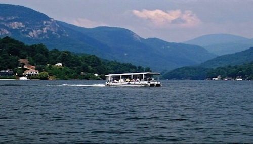 Lake Lure Boat Tour
