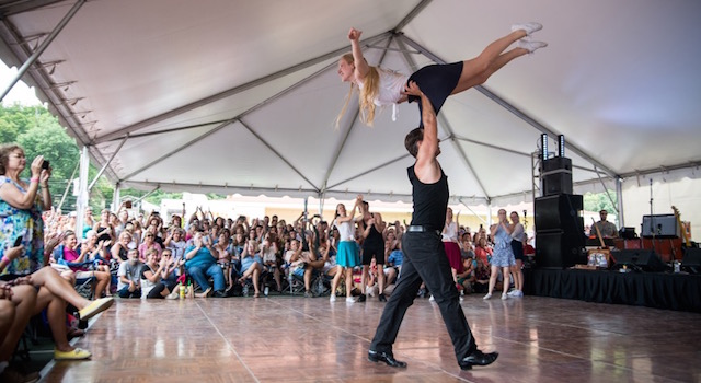 Dirty dancing festival for Lake lure arts crafts festival