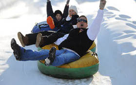 Moonshine Mountain Snow Tubing