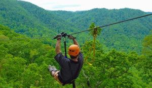 The Gorge Ziplining