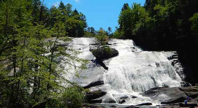 DuPont State Forest High Falls