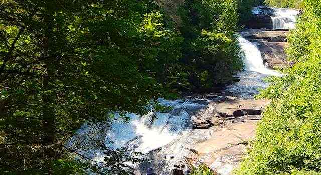 DuPont State Forest Triple Falls