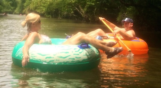 Tubing Down Green River
