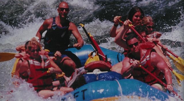 Outdoor Bucket List - White Water Rafting