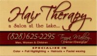 Hair Therapy Hair Salon Lake Lure, NC