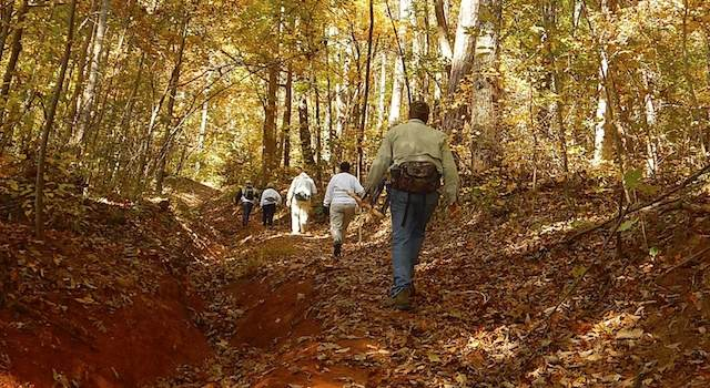 Party Rock Hike Lake Lure NC