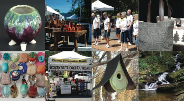 Lake lure arts and crafts festival for Lake lure arts crafts festival