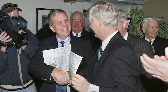 Governor Easley and Todd Morse