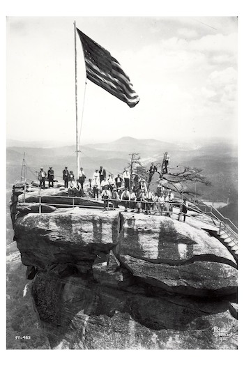 Group On Top of Chimney Rock