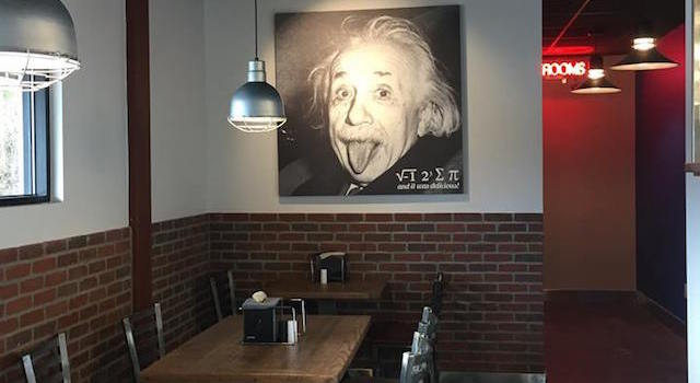 Pi-Squared Pizza Interior