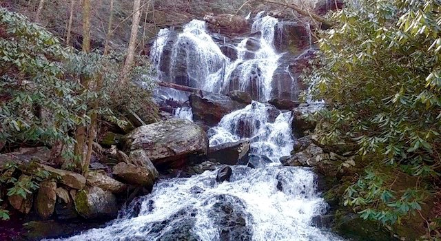 Catawba Falls Old Fort NC