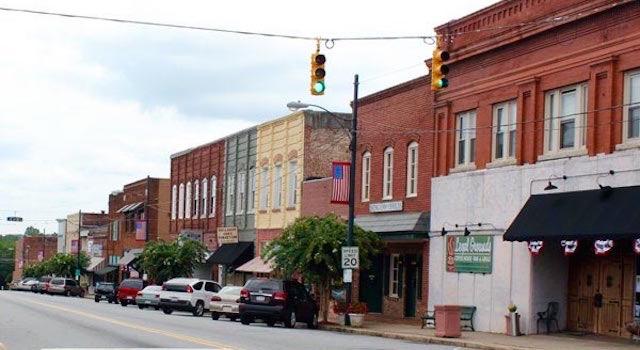 Rutherfordton NC Main Street (1)